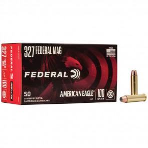 AMERICAN EAGLE® AMMUNITION - .327 FEDERAL MAGNUM - JACKETED SOFT POINT - 100 GRAIN