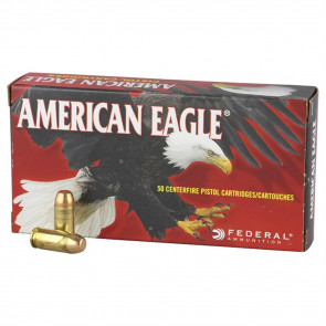 AMERICAN EAGLE AMMUNITION - 32 AUTO (7.65MM BROWNING) FULL METAL JACKET, 71 GRAIN