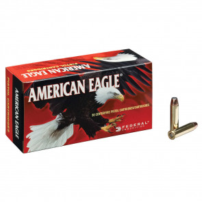 AMERICAN EAGLE® AMMUNITION - .38 SPECIAL - FULL METAL JACKET - 130 GRAIN