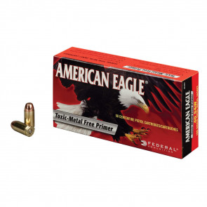 AMERICAN EAGLE® AMMUNITION - .40 S&W - FULL METAL JACKET - 180 GRAIN