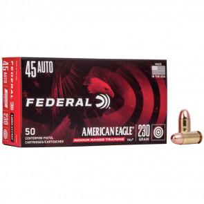 AMERICAN EAGLE® IRT HANDGUN AMMUNITION - .45 AUTO - TOTAL METAL JACKET - 230 GRAIN