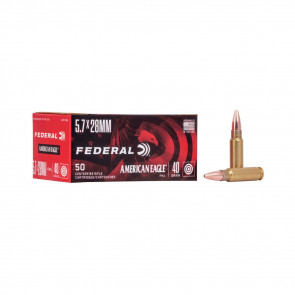 AMERICAN EAGLE® AMMUNITION - 5.7×28MM - TMJ® TOTAL METAL JACKET - 40 GRAIN
