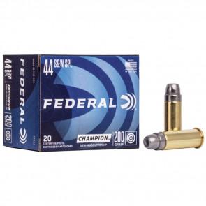 CHAMPION® AMMUNITION - .44 SPECIAL - SEMI-WADCUTTER HP - 200 GRAIN