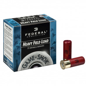 "GAME-SHOK™ UPLAND - HEAVY FIELD SHOTSHELLS - 12 GAUGE - 2 3/4"" - 1 1/8 OUNCE - #6 SHOT"