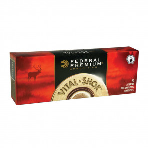 VITAL-SHOK AMMUNITION - 243 WIN. (6.16X51MM) TROPHY COPPER, 85 GRAIN