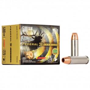 VITAL-SHOK® AMMUNITION - .500 S&W - BARNES® EXPANDER® - 275 GRAIN