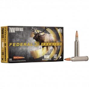 VITAL-SHOK® AMMUNITION - 7MM REMINGTON MAGNUM - NOSLER® PARTITION® - 140 GRAIN