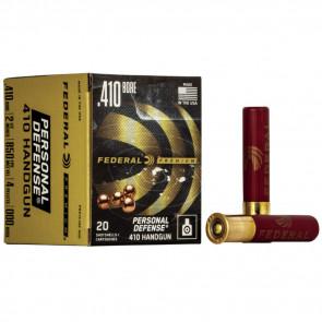 PREMIUM® PERSONAL DEFENSE® .410 BORE HANDGUN AMMUNITION - 2 1/2 INCH - 000 BUCKSHOT