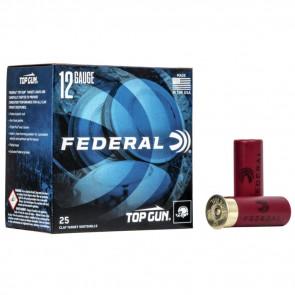 TOP GUN TARGET SHOTSHELLS - 12 GAUGE - 2.75 INCH - 1.125 OUNCE - #8 SHOT