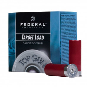 TOP GUN® TARGET SHOTSHELLS - 12 GAUGE - 2 3/4 INCH - 1 1/8 OUNCE - #8 SHOT