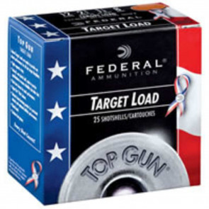 TOP GUN® TARGET - 12GA  - 2 3/4 INCH - 1-1/8 OZ - #8 SHOT - USA