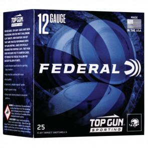 TOP GUN 12GA 2.75 1OZ 7.5 1300FPS 25/BX