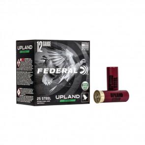 "UPLAND STEEL SHOTSHELLS - 12 GAUGE, 2 3/4"", 1 1/8 OZ, 6 SHOT, 25/BX"