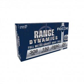 SHOOTING  DYNAMICS AMMO - 308 WINCHESTER 150 GRAIN FMJBT