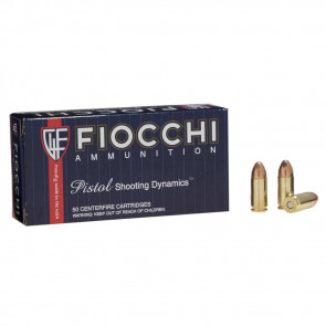 SHOOTING DYNAMICS AMMO - 9MM LUGER 115 GRAIN FMJ