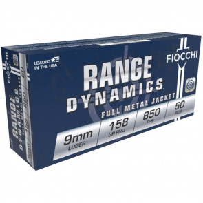 SD 9MM 158GR FMJ SUBSONIC 50RD