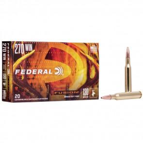 FUSION® AMMUNITION - .270 WINCHESTER - FUSION® BULLET - 130 GRAIN