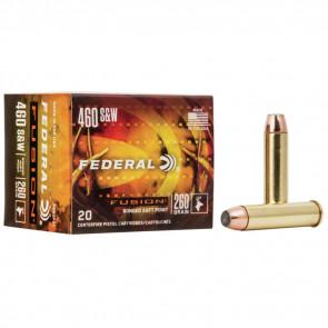 FUSION® HANDGUN AMMUNITION - .460 S&W - FUSION® SP BULLET - 260 GRAIN