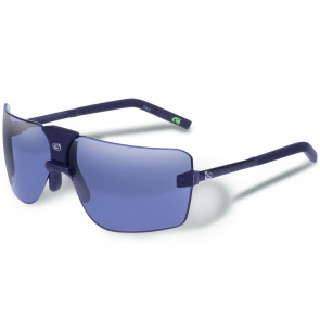 85S EYEWEAR - MATTE BLACK/SMOKE BLUE MIRROR