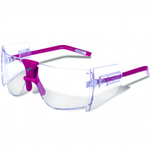 85'S SUNGLASSES - FUSCIA/CLEAR