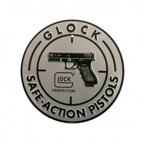 GLOCK - SAFE ACTION ALUMINUM SIGN