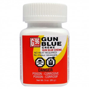 G96 GUN BLUE CREME - 3 OZ. BOTTLE