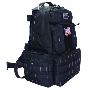 TACTICAL RANGE TALL BACKPACK - BLACK