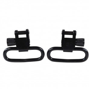 "GT™ LOCKING SWIVELS - 1 ¼""LOOPS - BLACK-OXIDE FINISH"