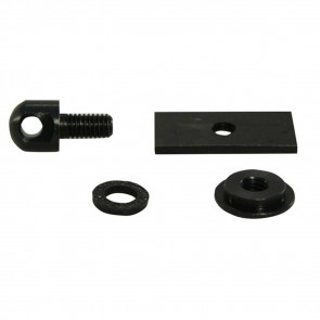 STOCK AR FOREARM STUD ADAPTER - BLACK OXIDE