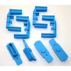 HEXID AR-15 MAGAZINE FOLLOWER - NIMBUS BLUE - 4 PACK
