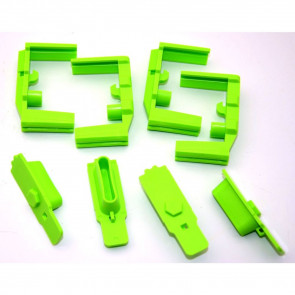 HEXID AR-15 MAGAZINE FOLLOWER - ZOMBIE GREEN - 4 PACK