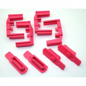 HEXID AR-15 MAGAZINE FOLLOWER - PANTHER PINK - 4 PACK