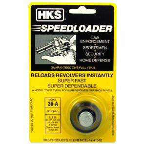 REVOLVER SPEEDLOADER - .38/357 CALIBER - 5 SHOT