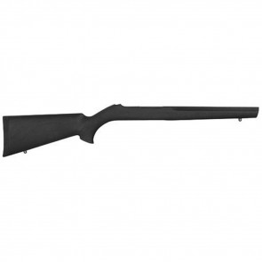 RUBBER OVERMOLDED STOCK - RUGER 10-22 WITH STANDARD BARREL CHANNEL - BLACK