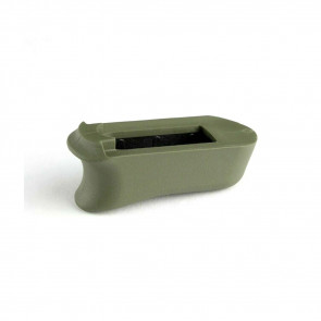 KIMBER MICRO 9: RUBBER MAGAZINE EXTENDED BASE PAD - OD GREEN
