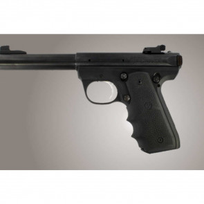 RUBBER WRAPAROUND GRIP WITH FINGER GROOVES - RUGER 22/45 RP