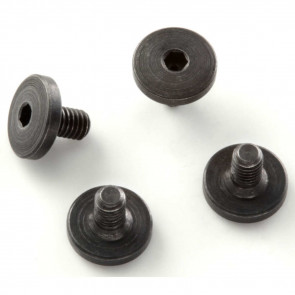 EXTREME GRIP SCREWS - BERETTA AND TAURUS (4 SCREWS) (TAURUS PISTOLS MUST HAVE FRAME BUSHINGS) - ALLEN (HEX) HEAD BLACK FINISH