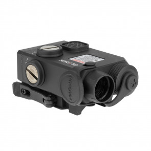 CO-AXIAL LASER SIGHT - BLACK, GREEN & IR LASER, REMOTE CABLE SWITCH