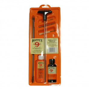 CLEANING KIT WITH STEEL ROD - .17, 17 HMR, .204 CALIBER