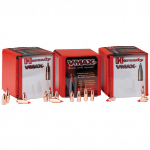 V-MAX BULLETS - 22 CALIBER, .224, 50 GRAIN, 100/BX