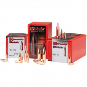 MATCH BULLETS - 22 CALIBER, BTHP, .224, 38 GRAIN, 100/BX