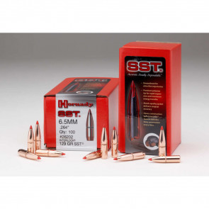 """SST SUPER SHOCK TIP BULLET - 338 CAL. .338"""", 225 GR, 100/BX"""