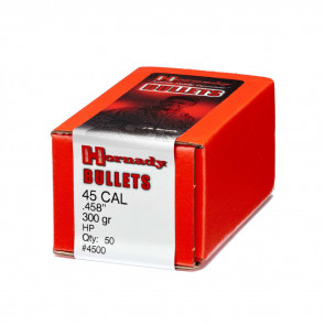 INTERLOCK® BULLETS - 45 CALIBER, 300 GR, .357, 50/BX