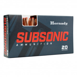 AMMO SUBSONIC 3030 WIN 175 GR SUBX 20/BX