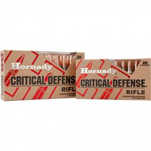 CRITICAL DEFENSE® AMMUNITION - 308 WINCHESTER, FTX, 155 GR, 20/BX