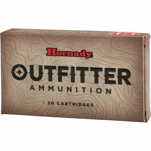 HORNADY 338 WIN MAG 225 GR GMX OUTFITTER - 20/BOX