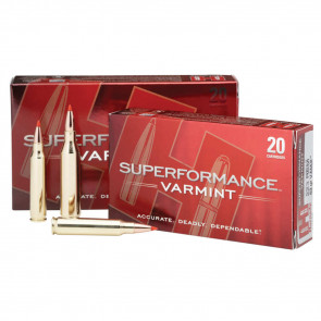 SUPERFORMANCE® AMMUNITION - 204 RUGER, NTX®, 24 GRAIN