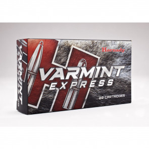 VARMINT EXPRESS AMMUNITION - 22-250 REMINGTON, 55 GRAIN, V-MAX