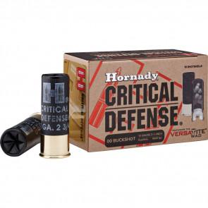 CRITICAL DEFENSE AMMUNITION - 12 GAUGE, 00 BUCKSHOT