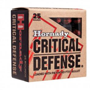 HORNADY 327 FEDERAL MAG 80 GR FTX CRITICAL DEFENSE - 25/BOX